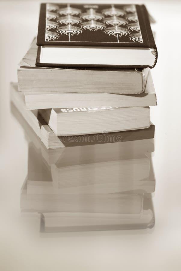 Haufen der Bücher lizenzfreie stockfotos