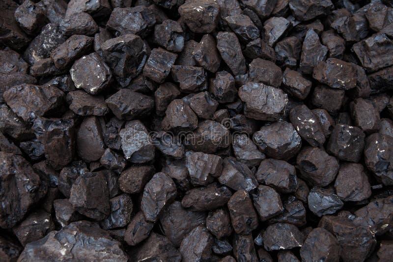 Haufen der Kohle stockbilder