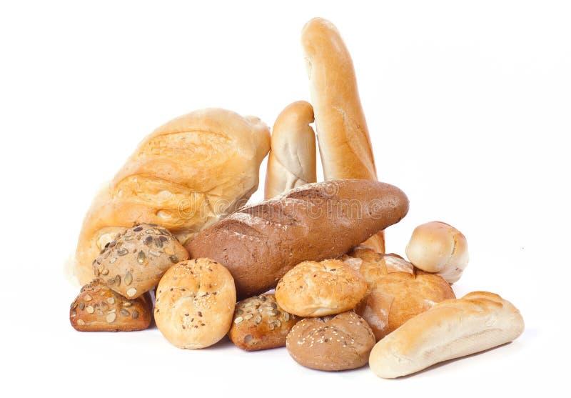 Haufen des Brotes lizenzfreie stockfotos