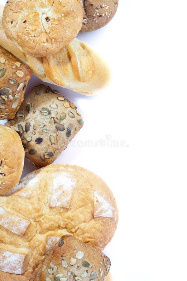Haufen des Brotes stockfoto