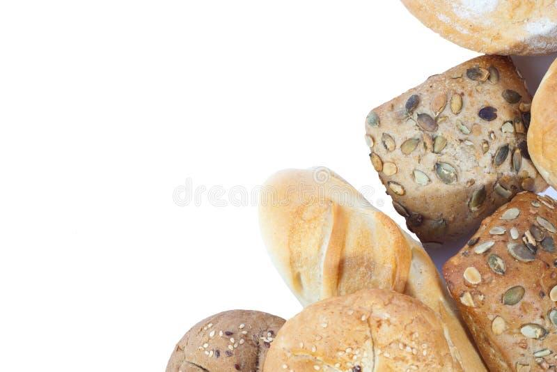 Haufen des Brotes lizenzfreies stockfoto