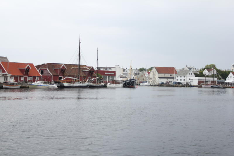 Haugesund stockfotos