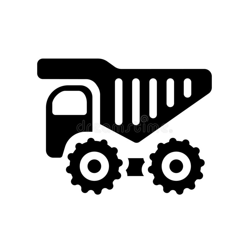 Haul icon. Trendy haul logo concept on white background from Transportation collection. Suitable for use on web apps, mobile apps and print media vector illustration