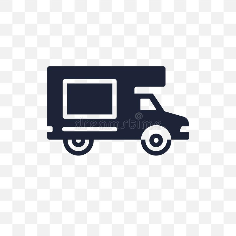 Haul transparent icon. haul symbol design from Transportation co. Llection stock illustration
