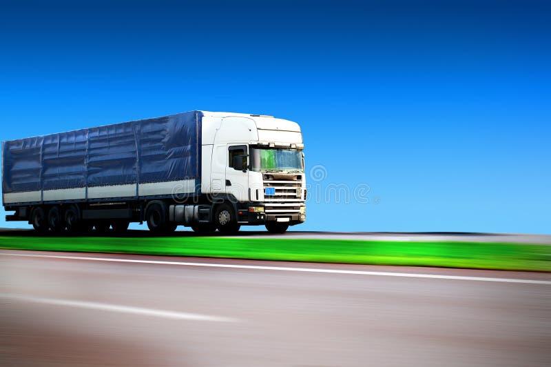 Hauling Cargo Stock Image