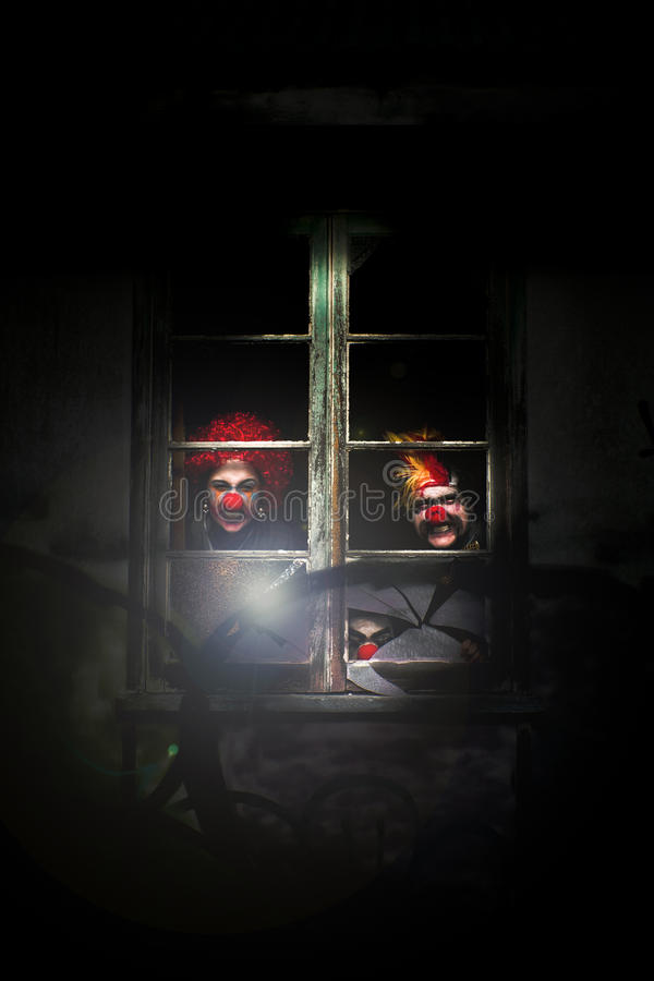 Download Haunted Clown House Royalty Free Stock Images - Image: 17743799