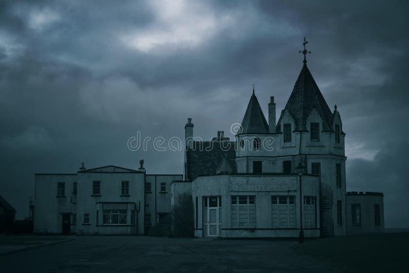 Haunted Hotel stock photos