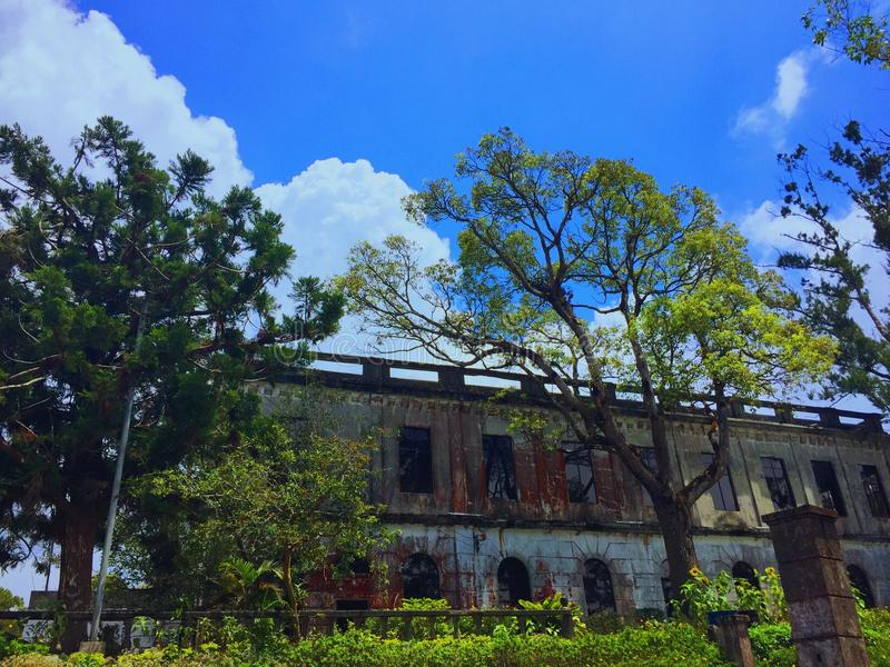 Haunted Hotel at Baguio,Philippines royalty free stock photos