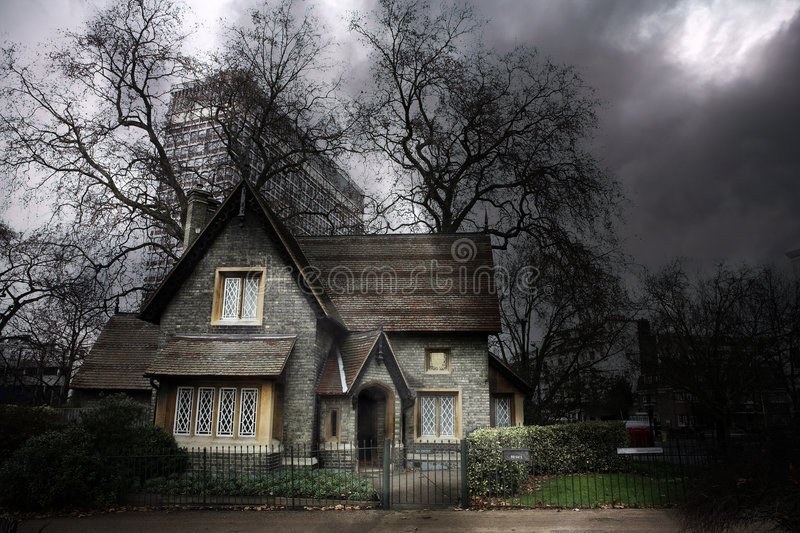 Haunted House #1 royalty free stock image