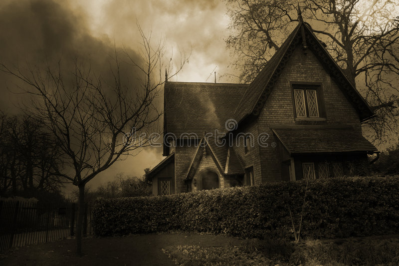 Haunted House #2 royalty free stock photography