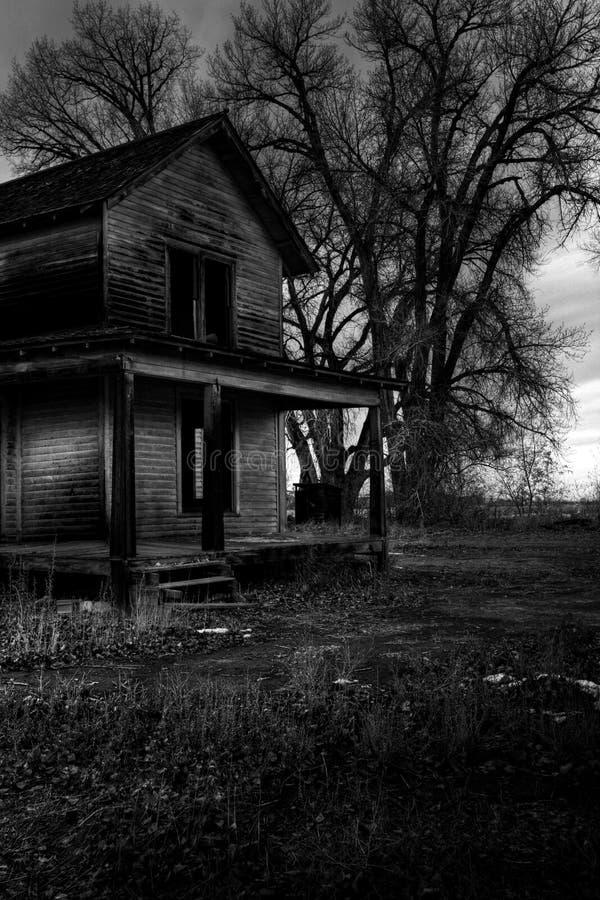 Haunted House Stock Photo