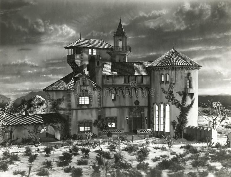 Haunted house royalty free stock photos