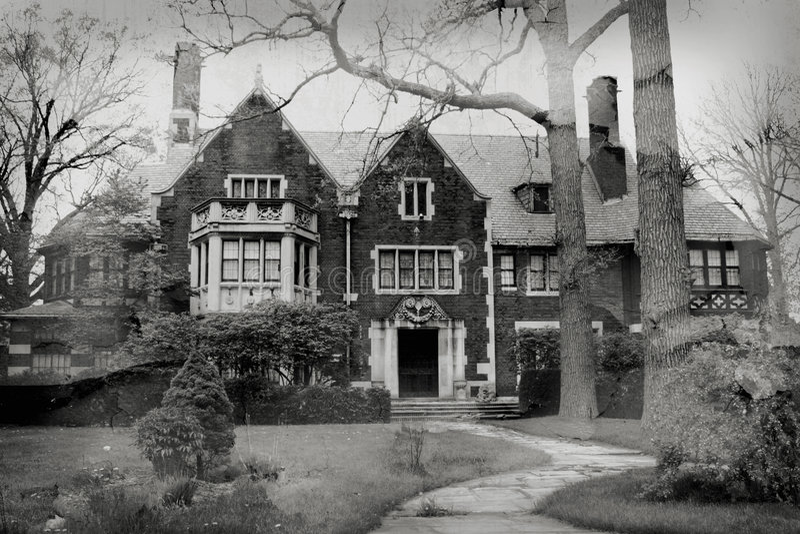 Haunted Mansion royalty free stock photo