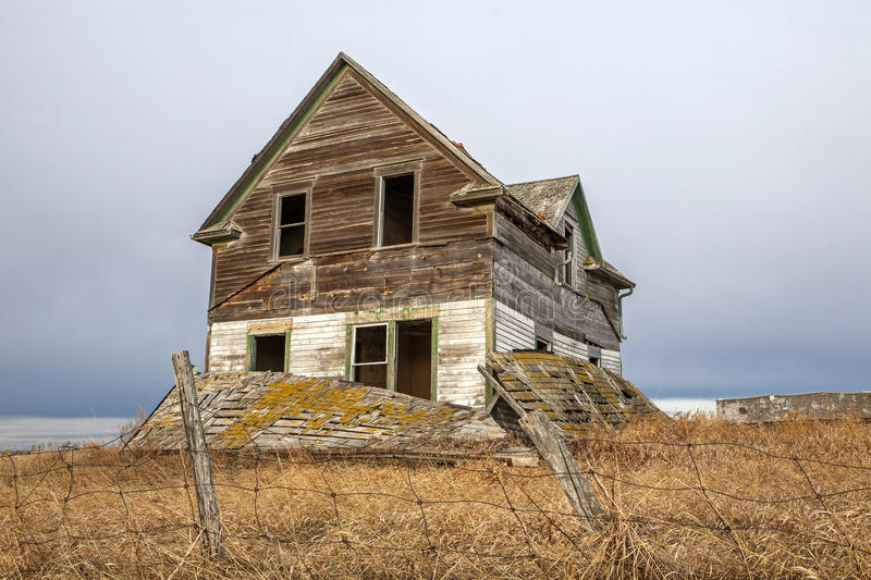Haunted Old House Royalty Free Stock Image