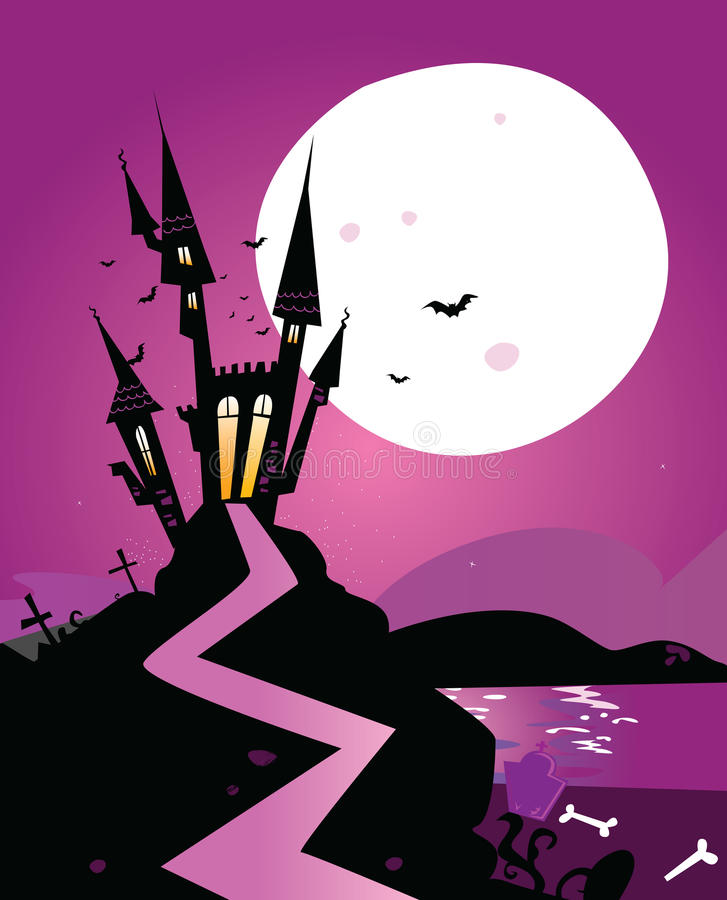 Download Haunted Scary Castle Royalty Free Stock Image - Image: 11386656