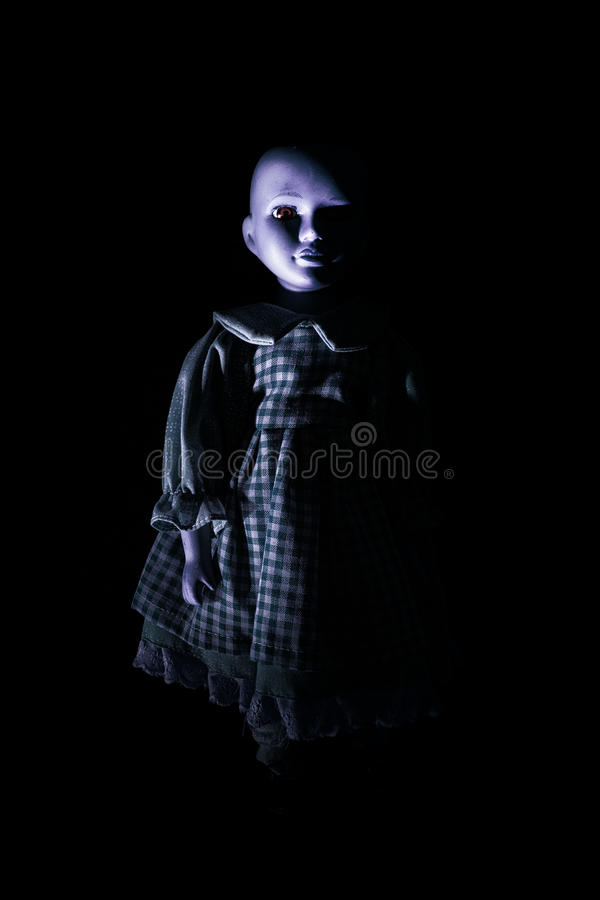 Free Haunting Child S Doll Figure Royalty Free Stock Image - 29534256