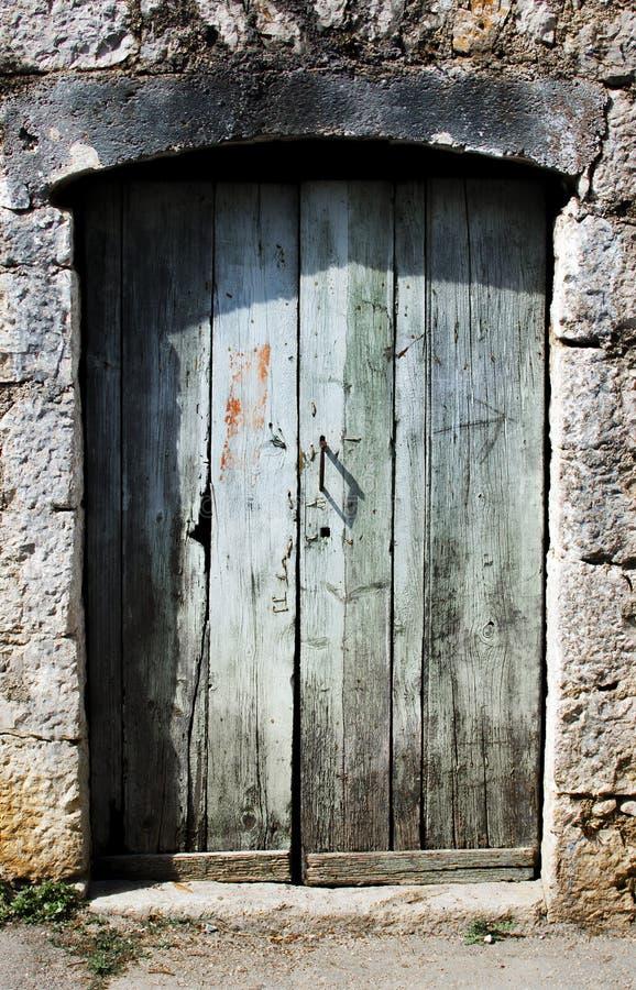 Haunty dörrar arkivfoto