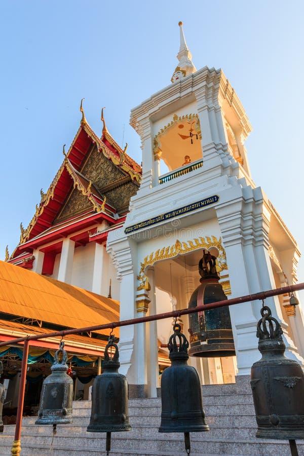 Haupt-Hall, Thailand-Art Belfry und Naturstein schnitzen Granit Chinesepagode stockbild