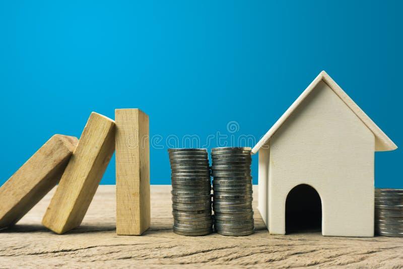 Haupt- oder Immobilienversicherungsschutzkonzept lizenzfreies stockfoto
