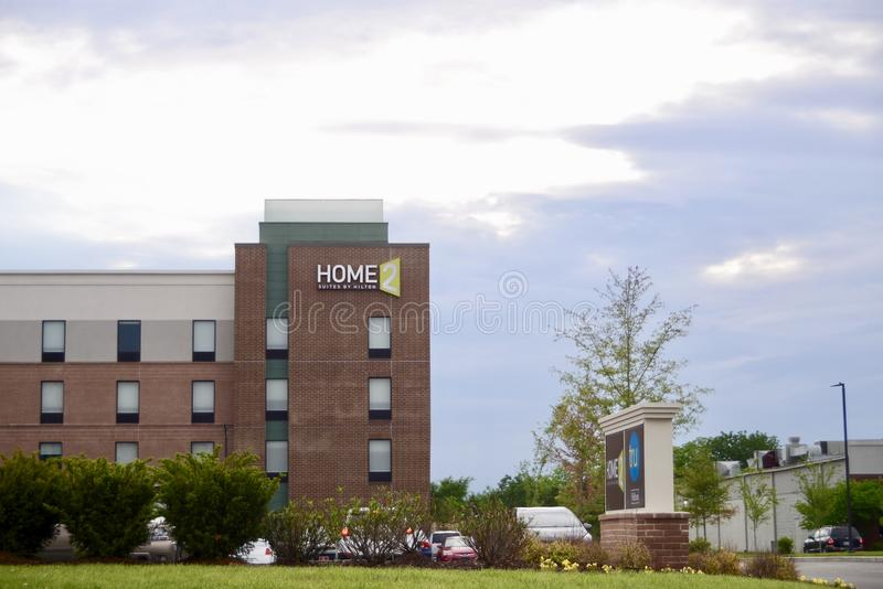 Haupt-Tru-Reihen-Hotel, Murfreesboro, TN stockbilder