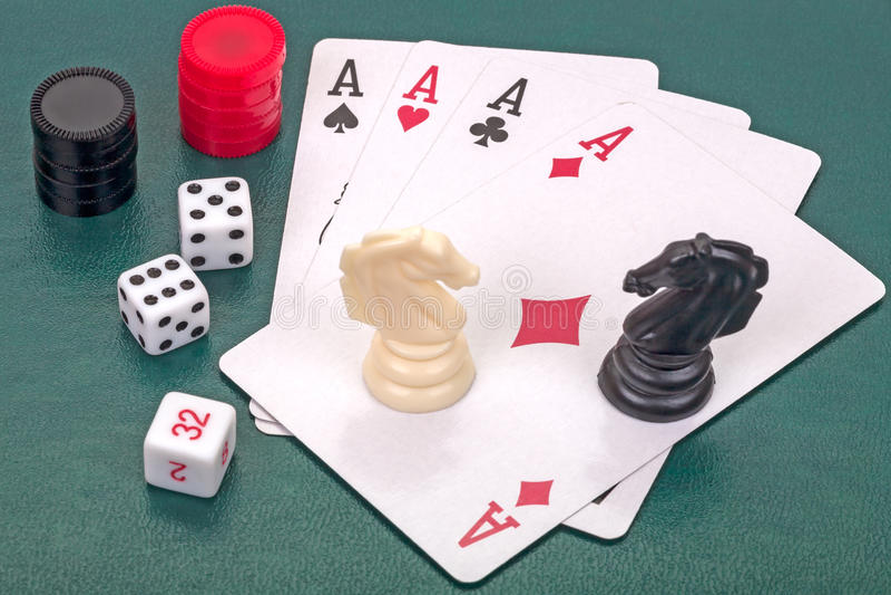 Hauptausschussspiele stockbilder
