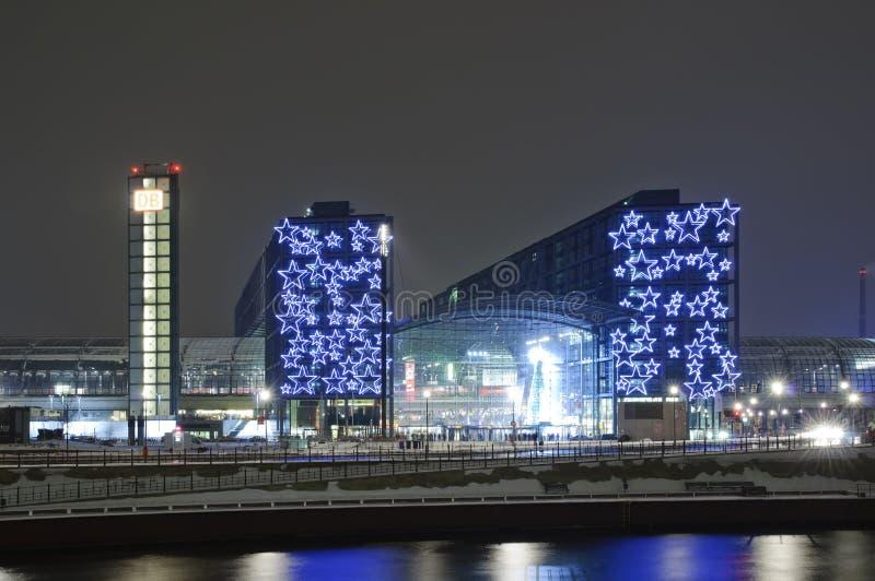Hauptbahnhof à Berlin images libres de droits