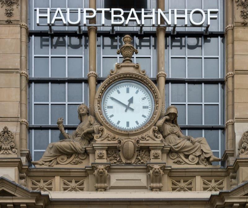 Hauptbahnhof Frankfurt stockbilder