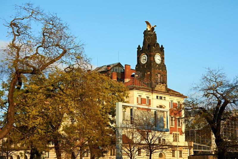 Hauptbahnhof Prag lizenzfreie stockbilder
