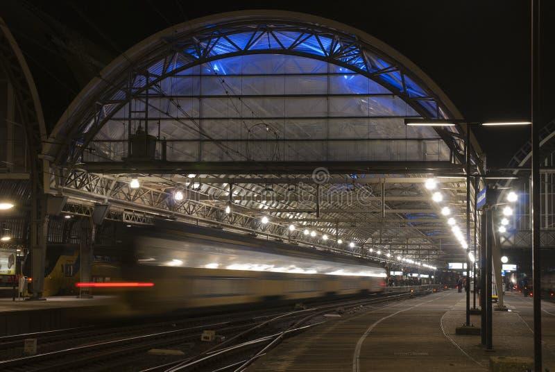 Hauptbahnhof von Amsterdam lizenzfreies stockbild
