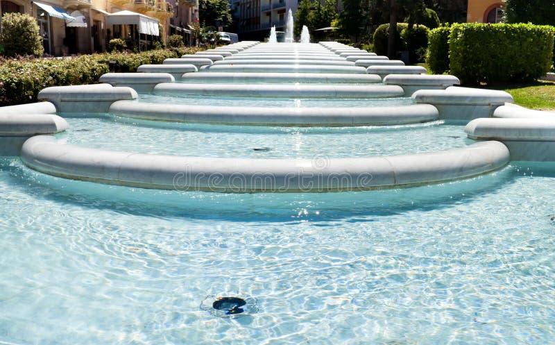 Hauptbrunnen lizenzfreie stockbilder