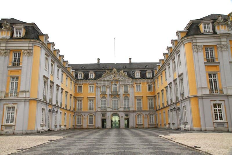 Haupteingang des Augustusburg Palastes lizenzfreies stockbild