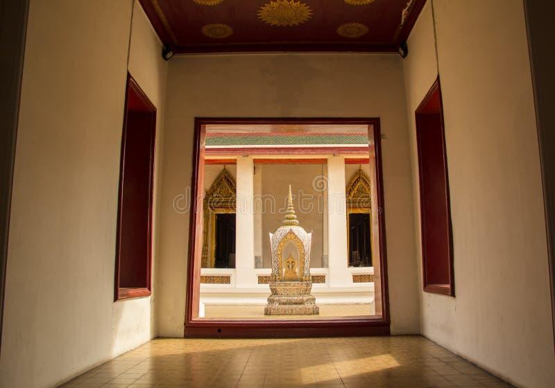 Haupteingang zum Tempel stockbilder