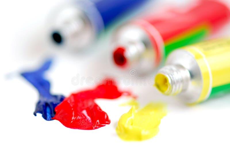 Hauptfarbenlack stockfoto