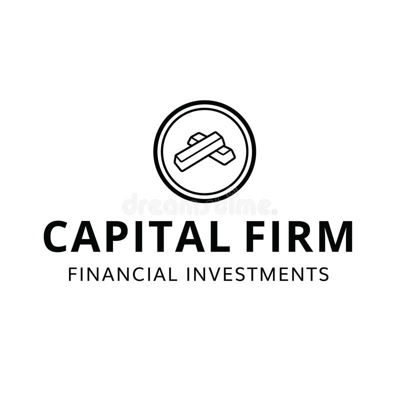 Hauptfinanzfestes Investitions-finanzielllogo stockbild