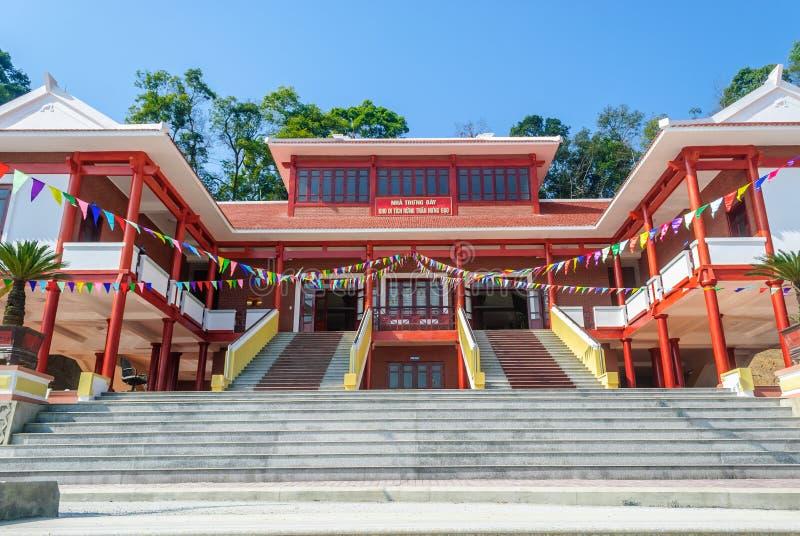 Hauptgalerie von Tran Hung Dao-Wald stockfotografie