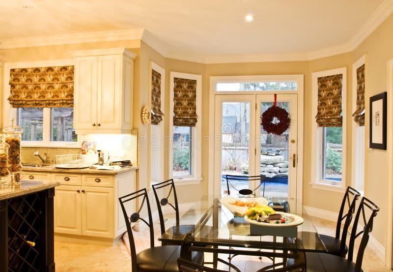 Hauptinnenraum: Küche stockfoto