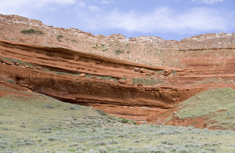 Hauptjoseph-szenische Datenbahn - Wyoming stockbild