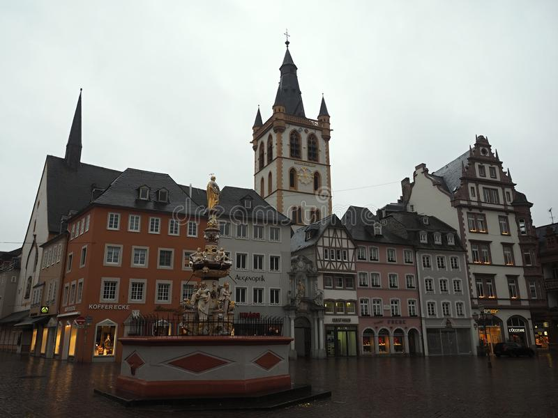 Hauptmarkt - GRADA - Alemania imagen de archivo