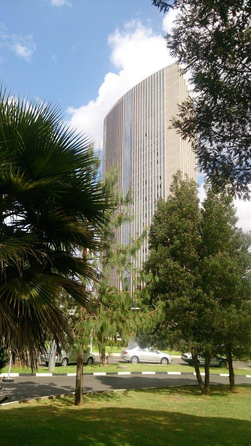 Hauptsitze der Afrikanischen Union lizenzfreies stockbild