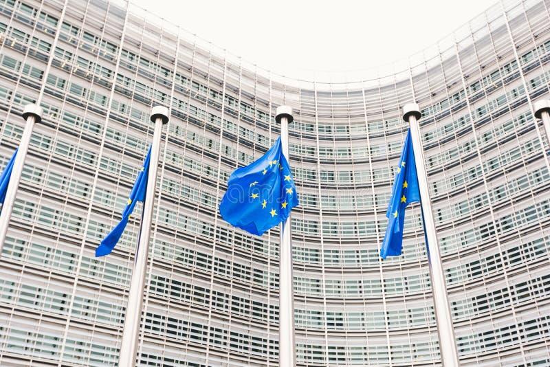 Hauptsitze der Europ?ischen Kommission in Br?ssel, Belgien stockbilder