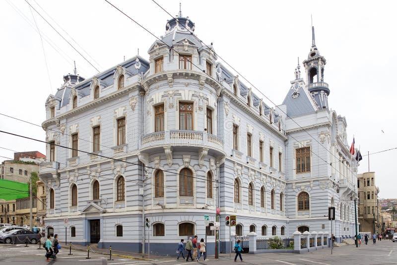 Download Hauptsitze Der Marine In Valparaiso, Chile Redaktionelles Bild - Bild von grenzstein, architektur: 96930580