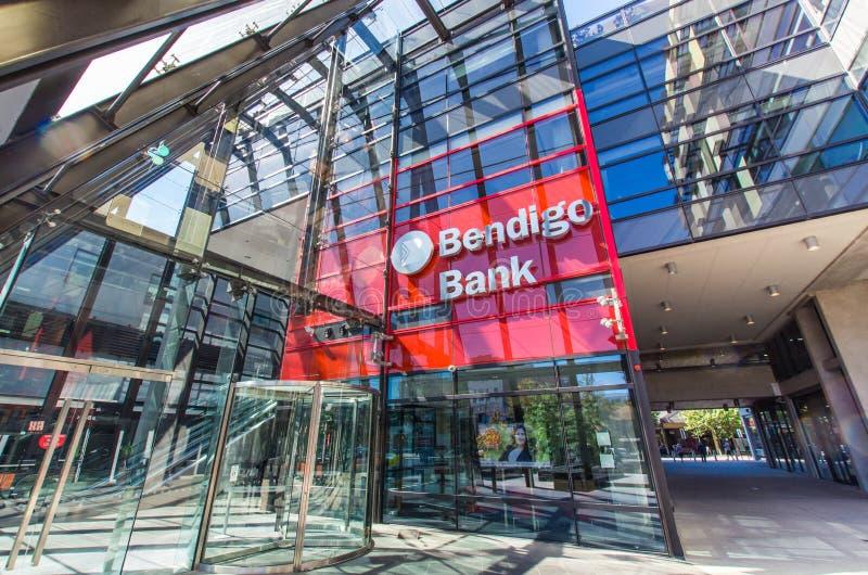 Hauptsitze des Bendigo und Adelaide Bank Ltd in Bendigo Australien stockbild