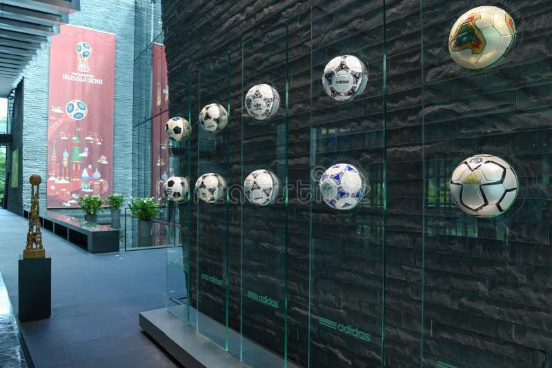Hauptsitze von FIFA in Zürich auf der Schweiz stockbilder