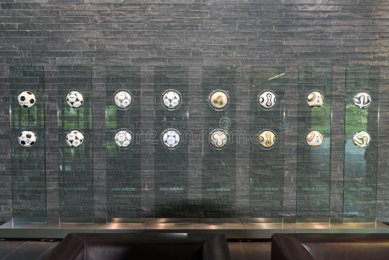 Hauptsitze von FIFA in Zürich auf der Schweiz stockfotos
