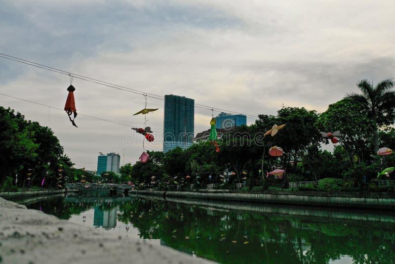 Hauptstadt Osttimor, Indonesien Surabayas lizenzfreies stockfoto