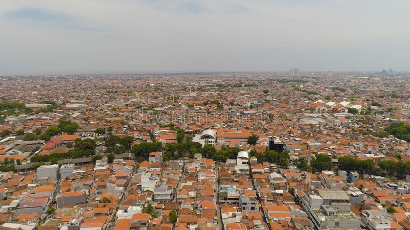 Hauptstadt Osttimor, Indonesien Surabayas stockfoto