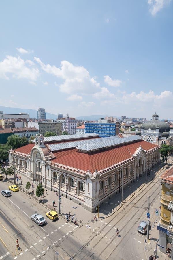 Hauptstadt Sofias, Bulgarien im Stadtzentrum gelegen stockbild
