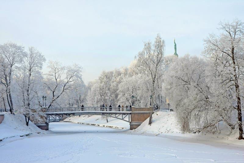 Hauptstadt von Lettland Riga lizenzfreies stockfoto