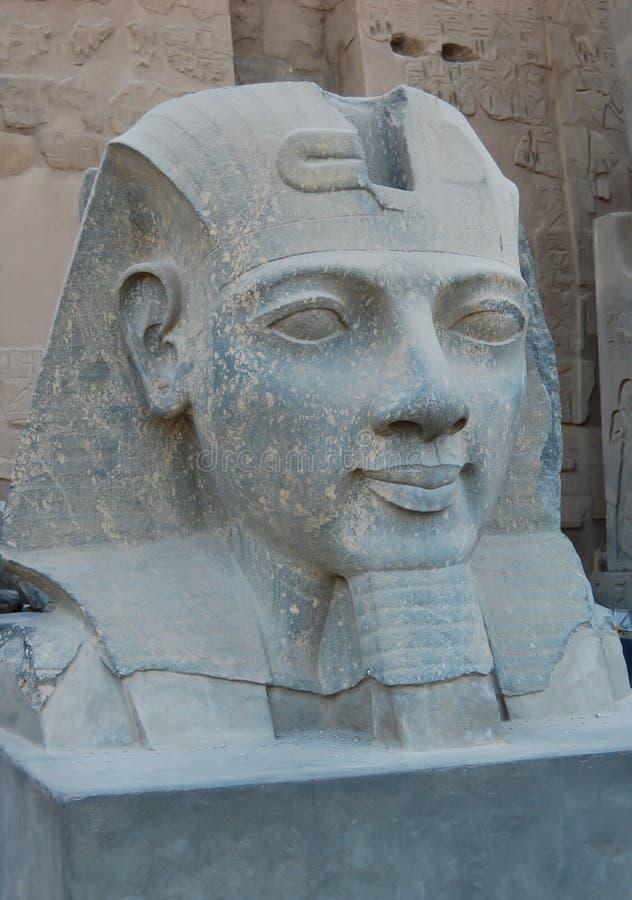 Hauptstatue von Ramses II lizenzfreies stockfoto