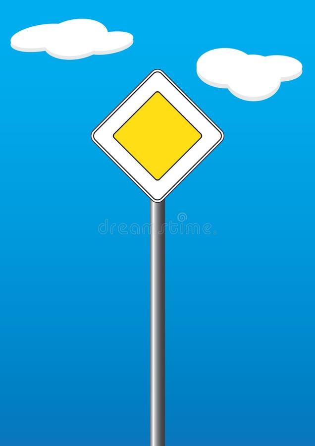Hauptstraße lizenzfreie abbildung